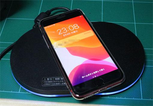 iPhone SE TPUケースは、Qiで充電できるくらいの薄さであること