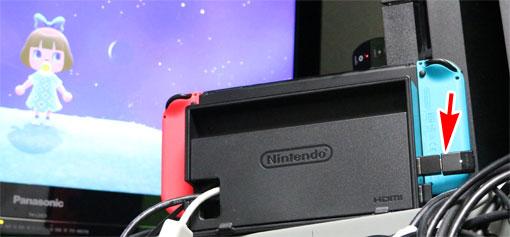 BT-W3をNintendo Switchのドックにつないでワイヤレスで使う