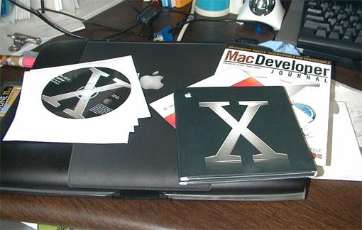 2003年Mac OS X 10.3 Panther とPowerBookG3