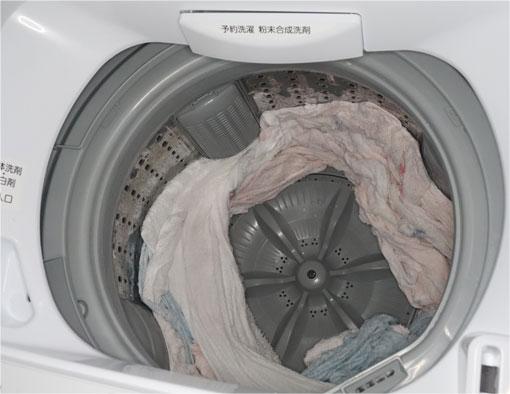 洗濯完了 タオルだけ