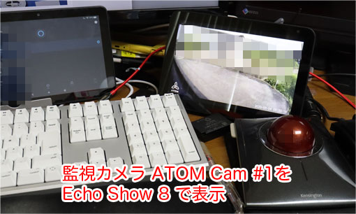 ATOM Camのライブ映像をEcho Show 8で表示する