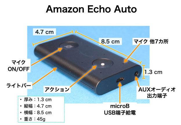 Echo Auto 各名称