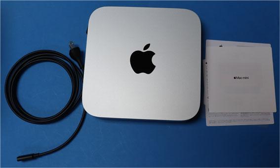 Mac mini M1 2020 のパッケージ内容