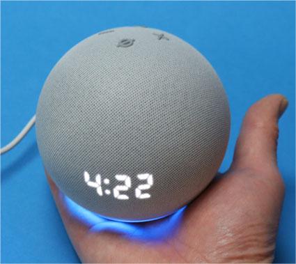 Echo Dot 第4世代 時計付き 2020年モデル