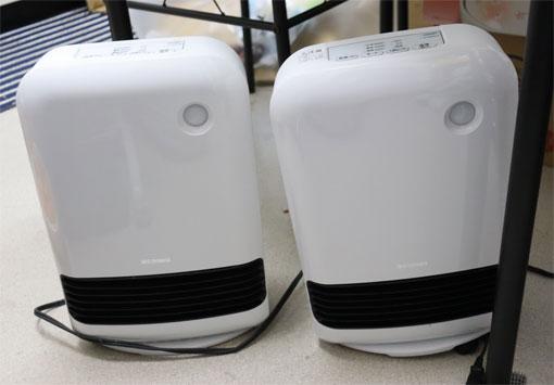 アイリスオーヤマ 電気ファンヒータ JCH-12TD4-W 2台目購入