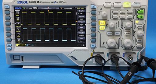 DS1102Z-E プローブ補償の調整