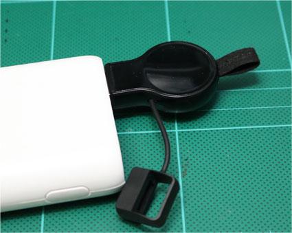 Apple Watch USB充電器とモバイルバッテリー