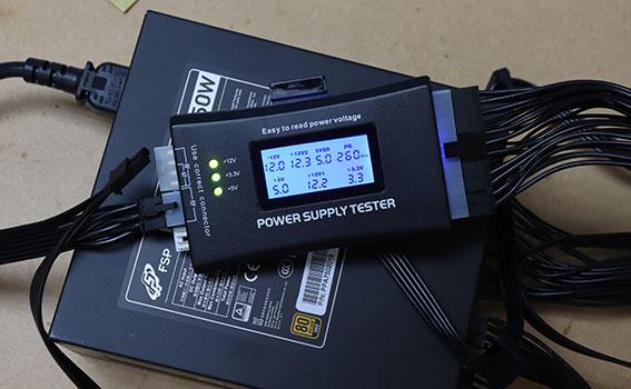 オウルテック Hydro GE 750をATX電源テスターで調べる