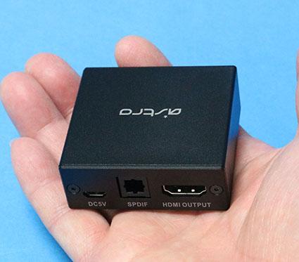 ASTRO ゲーミング HDMI 音声抽出 スプリッター