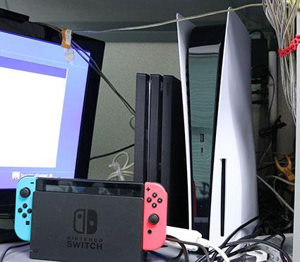 とりあえず、PS5をPS4 Pro、Nintendo Switchの録画システムに組み込む