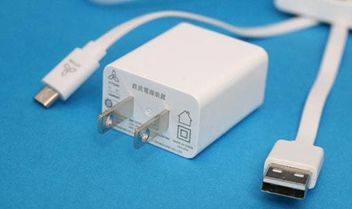 ATOM Cam 2 電源用USBケーブルとUSBアダプター