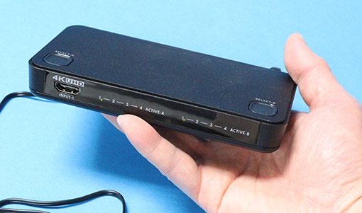 RS-HDSW42-4K ラトックシステム HDMIセレクタースプリッター マトリックス型