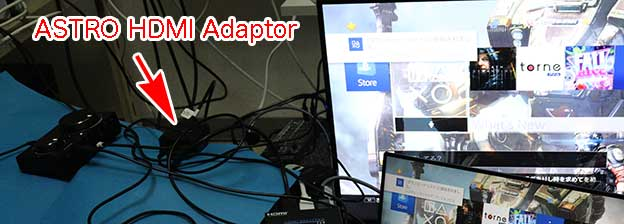 ASTRO HDMI Optical Splitter for PS5