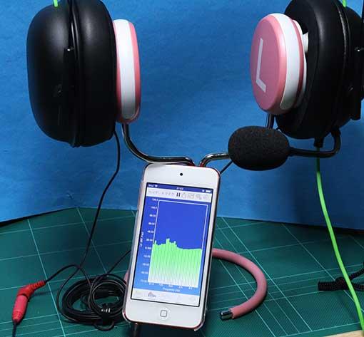 BlackShark V2 X をバイノーラルマイクで音を拾って音響テストする