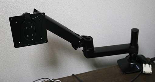 Amazonベーシック モニターアーム シングルモニター用