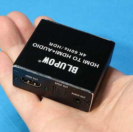 HDMI オーディオスプリッター BLUPOW VA98