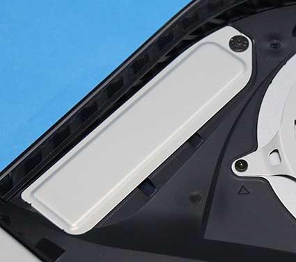 PS5 M.2 SSDストレージのカバー