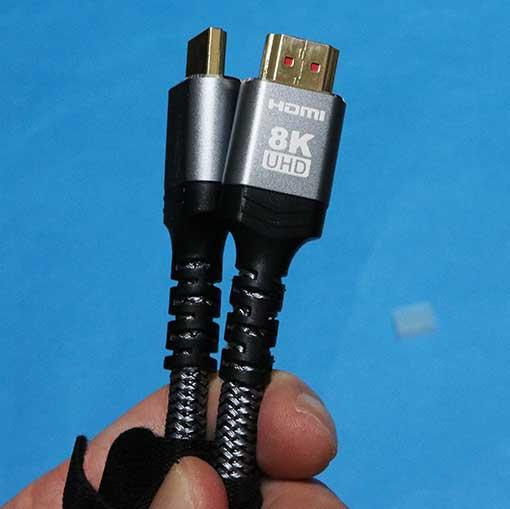 ノーブランド HDMI2.1 ケーブル