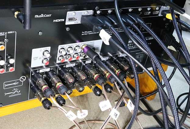 RX-A4A の配線