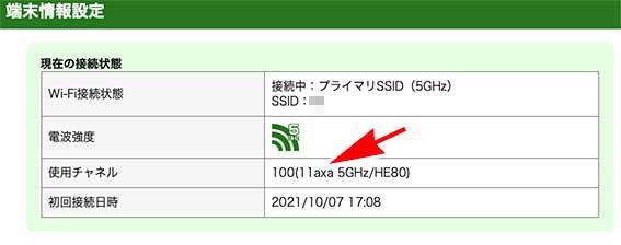 Fire TV stick 4K MaxをPA-WX6000HPにつないだ時の使用チャンネルは、11xax