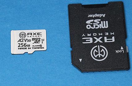 AXE MEMORY Amazonオリジナルブランド microSDXCカード 256GB